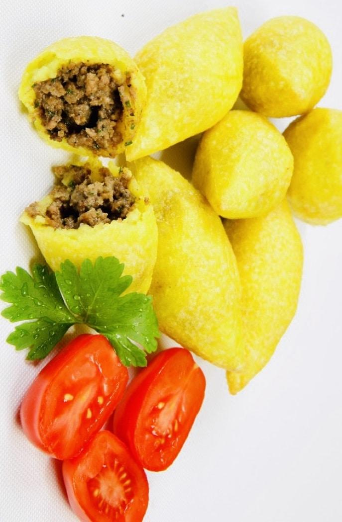 The Hirshon Iraqi Meat-Stuffed Rice Croquettes – كوبه حلب