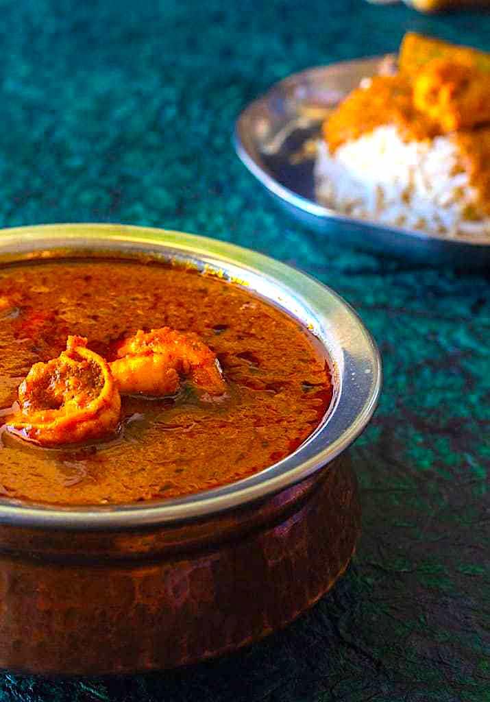 The Hirshon Maharashtrian Prawn Curry – कोकणी कोळंबीचं कालवण