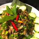The Hirshon Laotian Spicy Duck and Herb Larb - ເປັດ ລາບ
