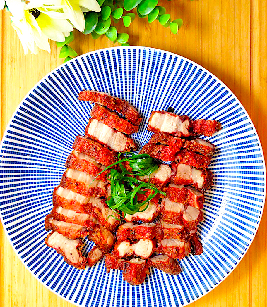 The Hirshon Taiwanese Crispy Fried Red-Cooked Pork Belly - 酥炸紅燒肉