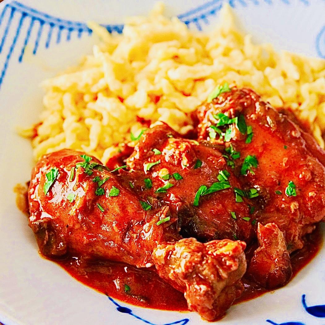 The Hirshon Hungarian Chicken Paprikash – Paprikás Csirke