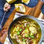 The Hirshon Filipino Won Ton Soup - Pancit Molo Ng Iloilo