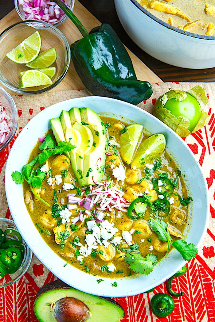 The Hirshon Moctezuma-Style Mexican Green Pozole