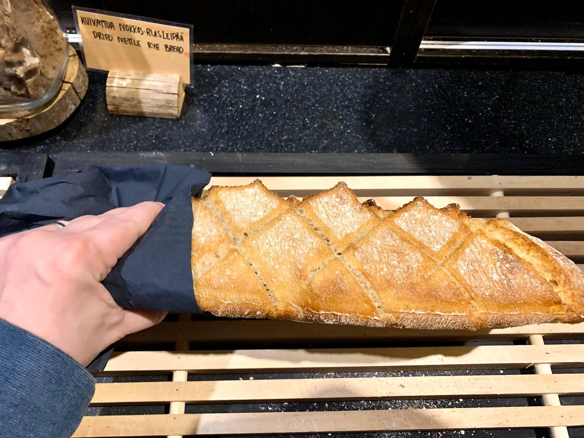 The Hirshon Finnish Nettle Rye Bread – Nokkosleipä