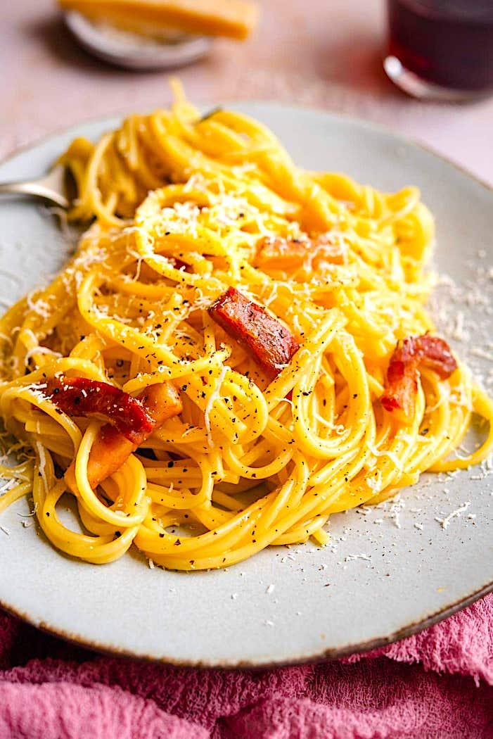 The Hirshon Italian Genuine Spaghetti Carbonara