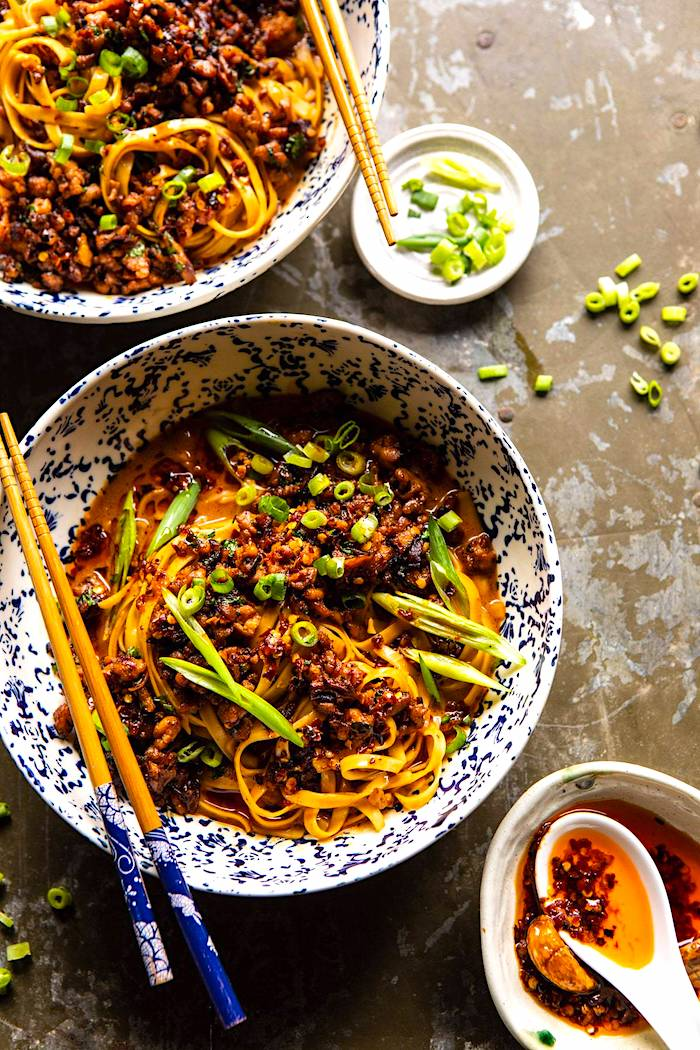 The Hirshon Sichuan Dan Dan Noodles - 担担面